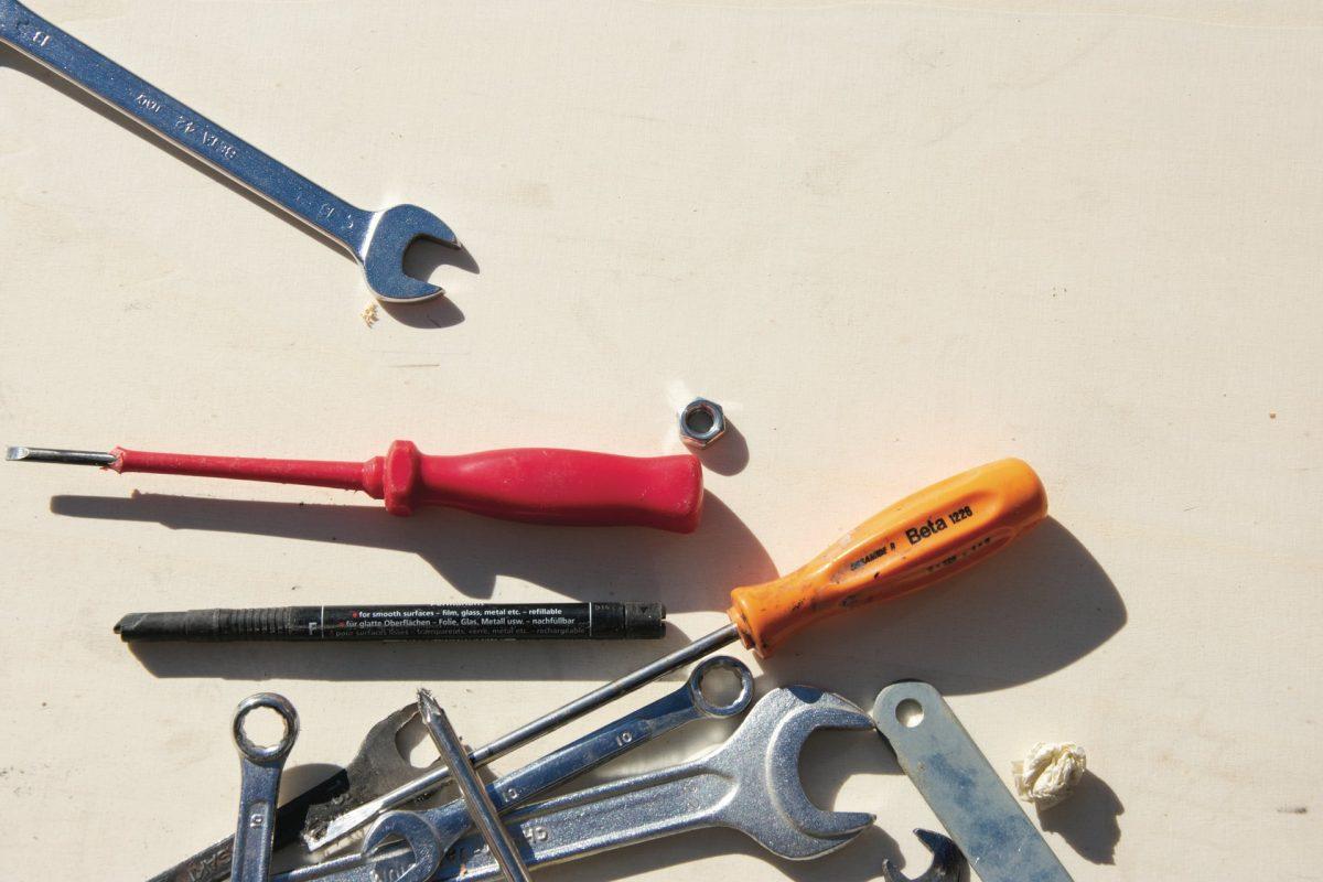 Sørg for altid at have det rigtige værktøj tilgængeligt